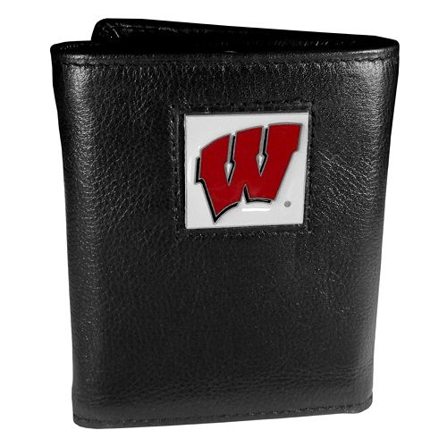 Wisconsin Badgers Trifold Wallet
