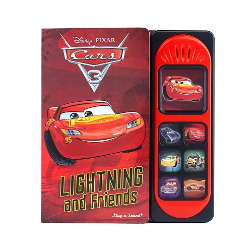 Disney / Pixar Cars 3 Lightning And Friends Sound Book by PI Kids