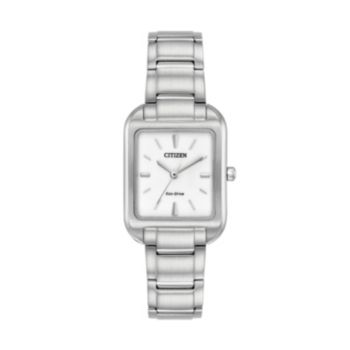 Citizen Eco-Drive Women's Silhouette Stainless Steel Watch - EM0490-59A