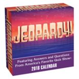 Jeopardy! 2018 Desk Calendar