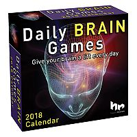 Daily Brain Games 2018 Desk Calendar