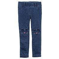 Toddler Girl Carter's Critter Pull-On Pants