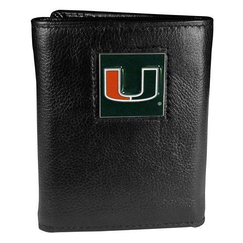Miami Hurricanes Trifold Wallet