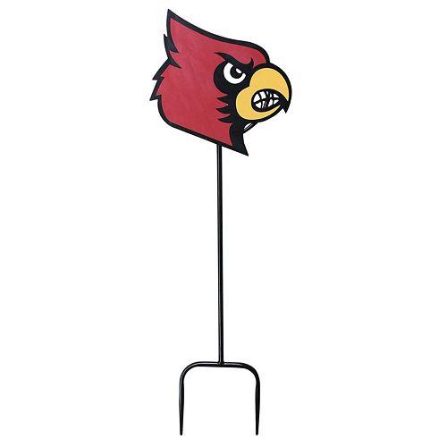 Louisville Cardinals Outdoor Yard Stake