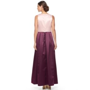 Women's Chaya Colorblock Pleated Evening Gown