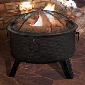 Navarro 26-in. Round Outdoor Fire Pit 4-piece Set