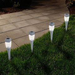 Navarro Outdoor Solar LED Path Light Garden Stake 24-piece Set