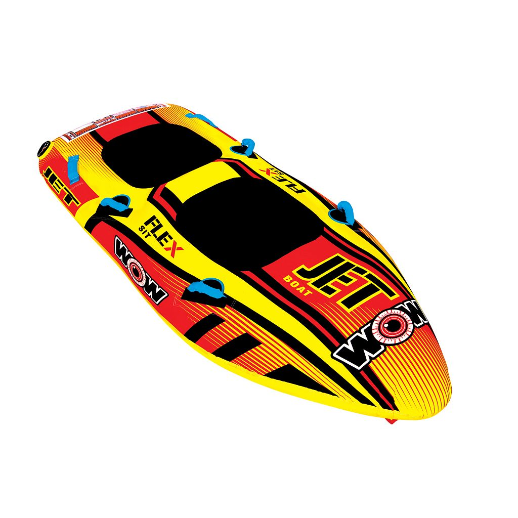 WOW Jet Boat 2 Person Inflatable Towable
