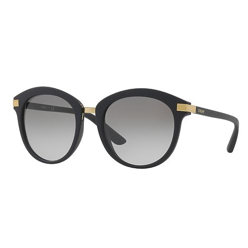 DKNY DY4140 52mm Round Gradient Sunglasses