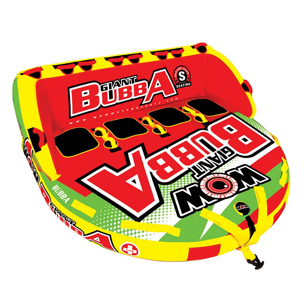 WOW Giant Bubba High Visibility Inflatable Towable