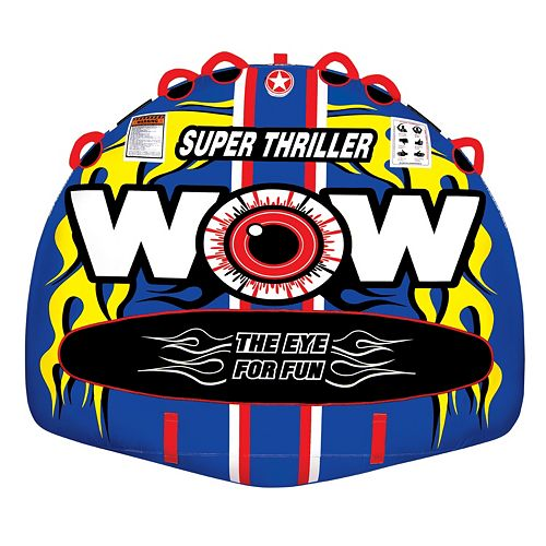 Wow Watersports Super Thriller Inflatable Towable Tube