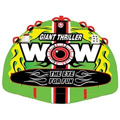 Wow Watersports Giant Thriller Inflatable Towable Tube