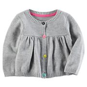 Baby Girl Carter's Shirred Sweater