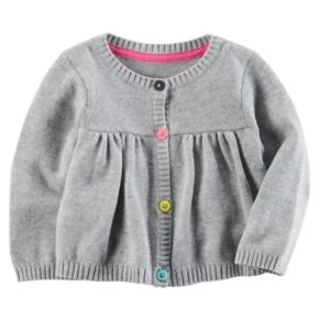 Baby Girl Carter's Shirred Sweater