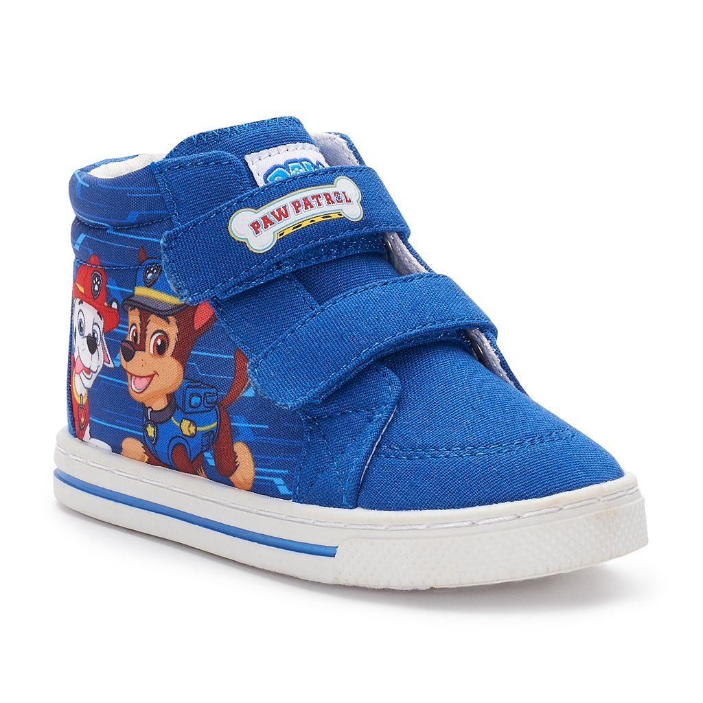 Paw Patrol Chase & Marshall Toddler Boys' High Top Sneakers