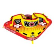 Wow Watersports Trinity 4-Person Sister Inflatable Towable Tube