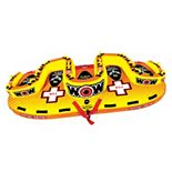 Wow Watersports Tootsie 5-Person Sister Inflatable Towable Tube