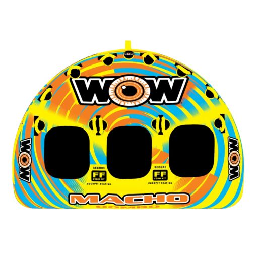 Wow Watersports Macho 3-Person Inflatable Towable