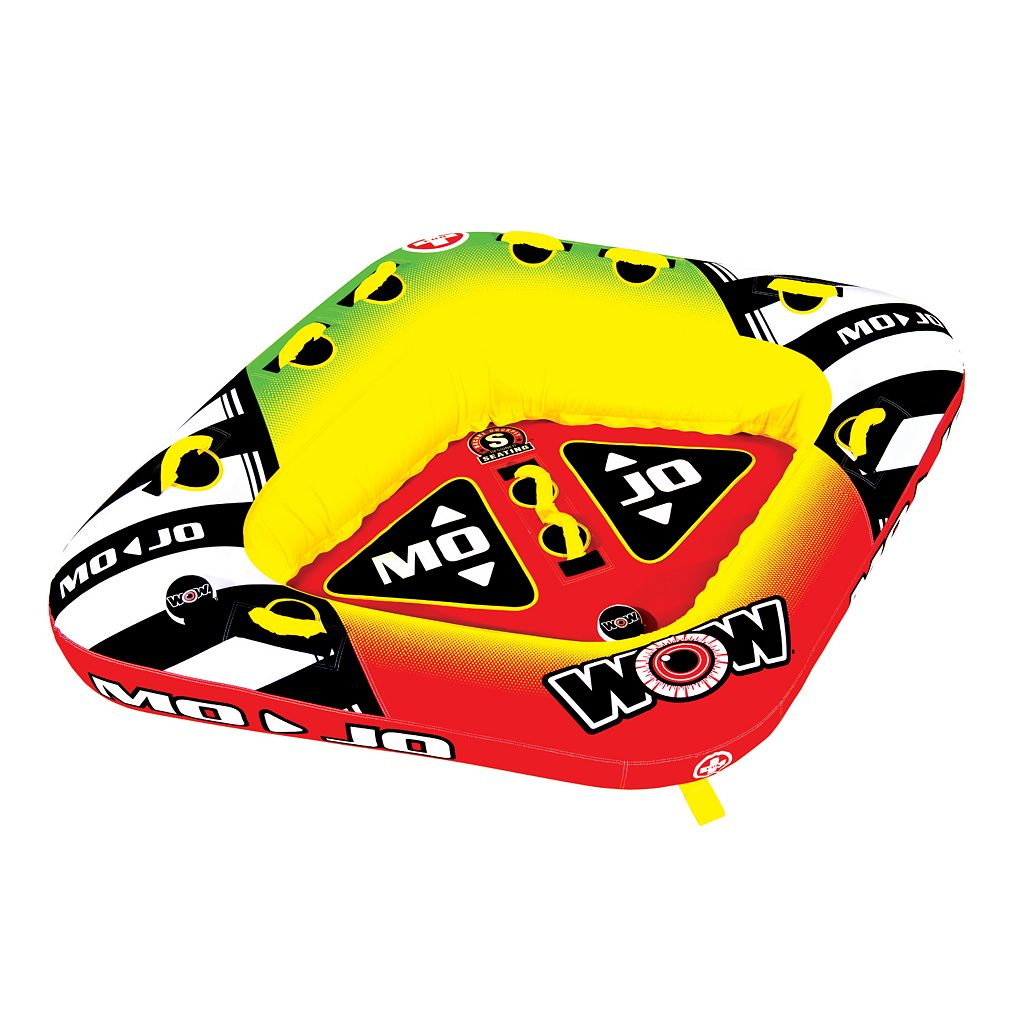 WOW Mojo 3-Person Inflatable Towable