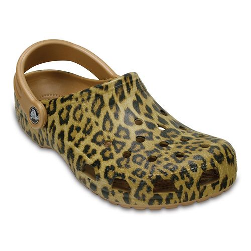 super quality uk availability official Crocs Classic Leopard Print III Women's Clogs