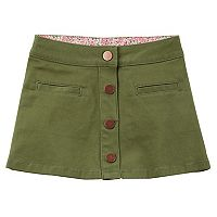 Toddler Girl Carter's Frayed Solid Skirt