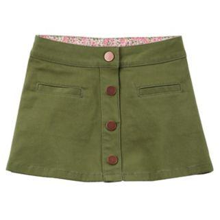 Toddler Girl Carter's Frayed Solid Skirt