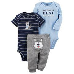 Baby Boy Carter's 'Daddy's Best Friend' Wolf Bodysuit & Pants Set
