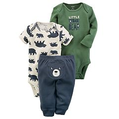 Baby Boy Carter's 'Little Baby Bear' Bear Bodysuit & Pants Set