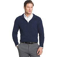 Men's Van Heusen Regular-Fit Textured Quarter-Zip Pullover Sweater