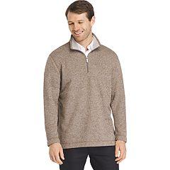 Men's Van Heusen Classic-Fit Sweater Fleece Quarter-Zip Pullover