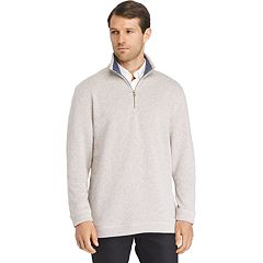 Men's Van Heusen Classic-Fit Sweater Fleece Quarter-Zip Pullover