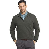Men's Arrow Classic-Fit Sueded Fleece Quarter-Zip Pullover
