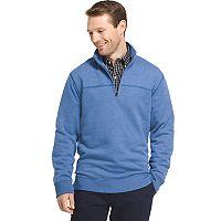 Men's Arrow Classic-Fit Sueded Fleece Quarter-Zip Pullover