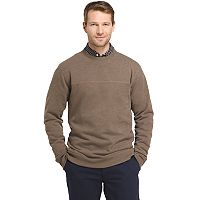 Men's Arrow Classic-Fit Sueded Fleece Crewneck Sweater