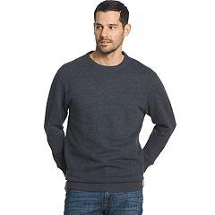 Men's Arrow Classic-Fit Sueded Fleece Crewneck Sweater