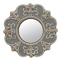 Stonebriar Collection Ceramic Wall Mirror