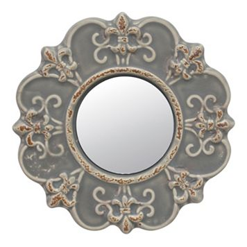 Stonebriar Collection Ceramic Wall Mirror