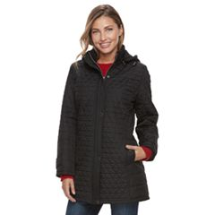 Women's KC Collections Triangle Quilted Jacket