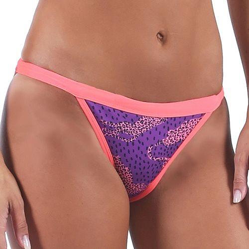 Women's Dolfin Bellas Print Reversible Bikini Bottoms