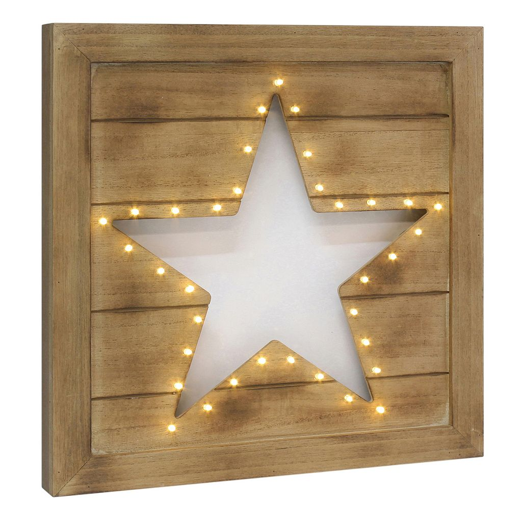 Stonebriar Collection LED Star Wall Decor