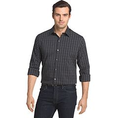Men's Van Heusen Traveler Slim-Fit Stretch No-Iron Button-Down Shirt