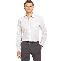 Men's Van Heusen Traveler Slim-Fit Stretch No-Iron Button-Down Shirt
