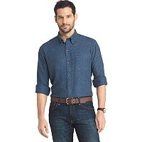 Men's Arrow Heritage Regular-Fit Twill Button-Down Shirt