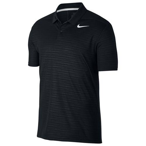 Men's Nike Essential Regular-Fit Dri-FIT Embossed Performance Golf Polo