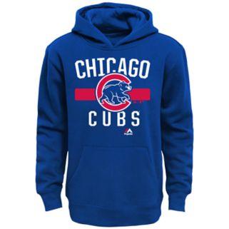 Boys 8-20 Majestic Chicago Cubs Fleece Hoodie
