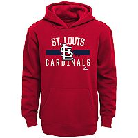 Boys 8-20 Majestic St. Louis Cardinals Fleece Hoodie