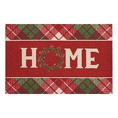 St. Nicholas Square® 'Home' Christmas Rug
