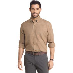 Big & Tall Arrow Heritage Regular-Fit Plaid Button-Down Shirt