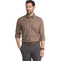 Big & Tall Arrow Heritage Regular-Fit Plaid Button-Down Shirt