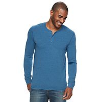 Big & Tall SONOMA Goods for Life™ Flexwear Slim-Fit Henley
